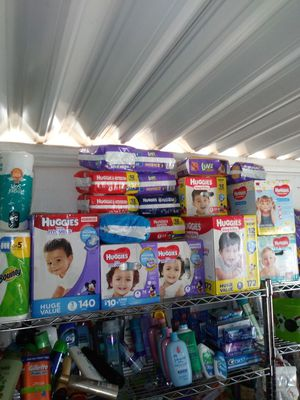 Diapers and hygen products for Sale in Wildomar, CA