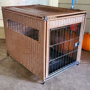 Large Wicker Dog Crate for Sale in Seattle, WA