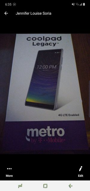Coolpad cell phone for metro pcs for Sale in Stockton, CA