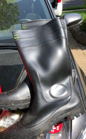 Rubber boots size 12 for Sale in Fairless Hills, PA