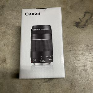 Canon EF 75-300 Lens for Sale in San Jose, CA
