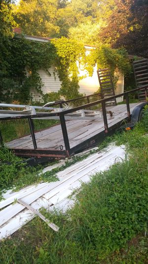 Car and utility trailer for Sale in Joppa, MD