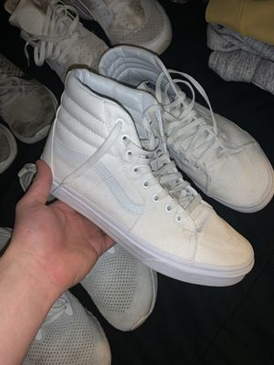 High top vans size 9.5 for Sale in Blacklick, OH