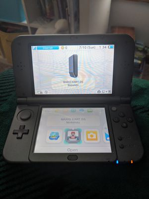 Nintendo 3ds xl, 6 games, charger and Pokémon case for Sale in Delaware, OH