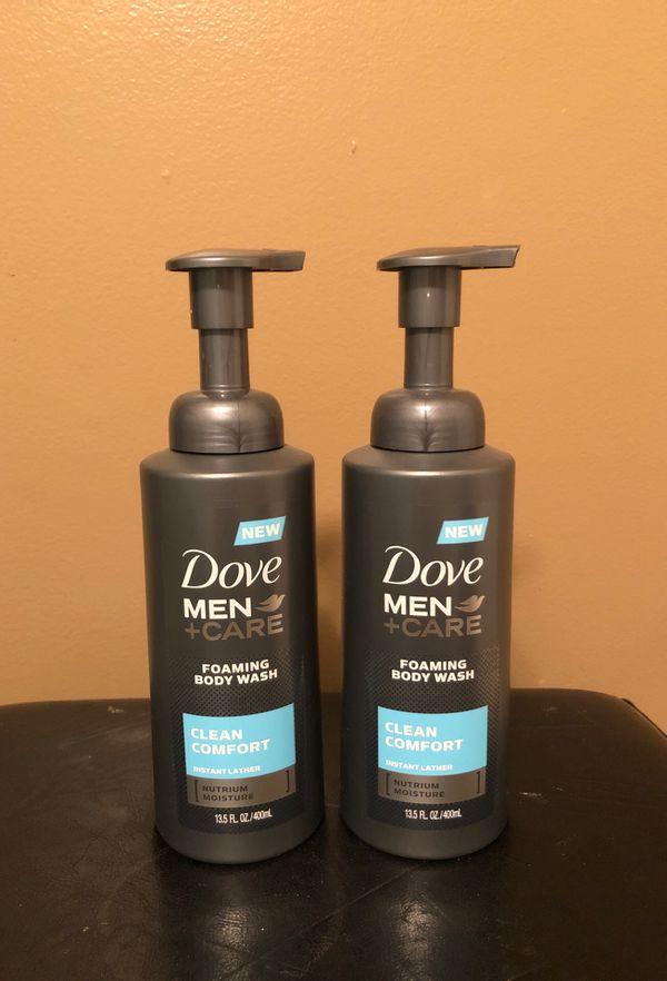 2 Dive men foaming body wash