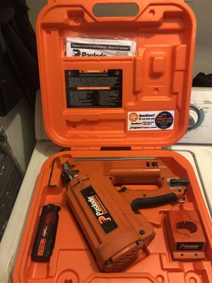 Paslode finishing nail gun for Sale in Murrieta, CA