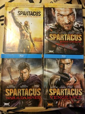 Spartacus the complete series for Sale in NC, US