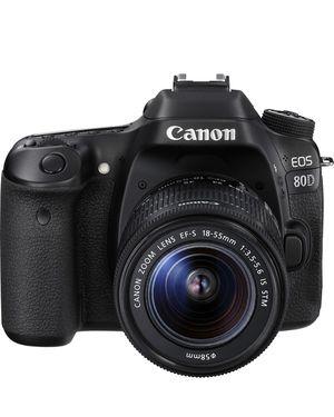 Cannon - EOS 80D DSLR Camera Black for Sale in Miami, FL