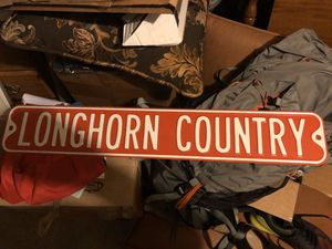 Texas Longhorn Sign for Sale in Austin, TX