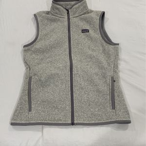 Patagonia Women's Grey Better Sweater Vest Size Medium for Sale in Santa Ana, CA