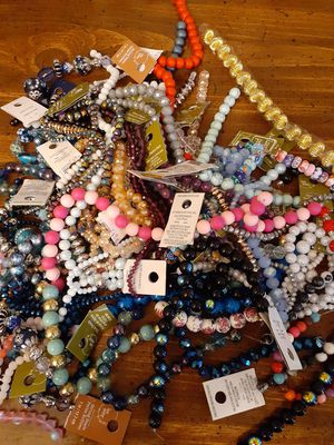 Bead lot and bead Container for Sale in Richmond, VA
