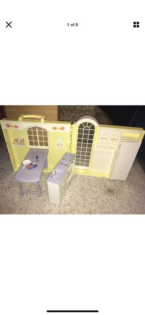 Barbie Happy Family: Grandma's Kitchen Foldable House for Sale in Aurora, IL