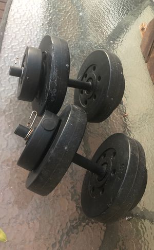 Two 20 pound weights for Sale in Commerce, CA