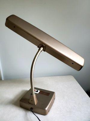 Vintage Industrial Machine Era Atomic Mid Century Gooseneck Task Lighting Office Desk Lamp for Sale in Cincinnati, OH