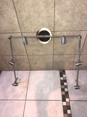 Vanity bath light fixtures LED STAINLESS STEEL for Sale in Santa Ana, CA