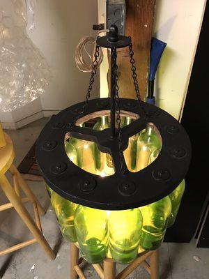 Wine bottle chandelier for Sale in San Francisco, CA