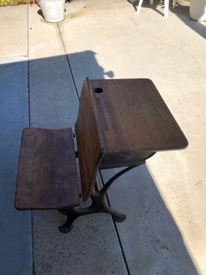 Old school desk for Sale in Spring Valley, CA