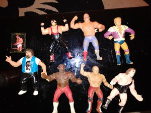 Legendary Wrestling action figures for Sale in Mitchell, IL