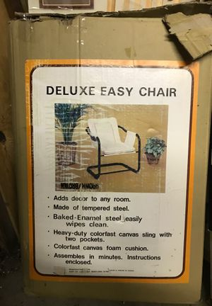 Canvas Easy Chair for Sale in Brookeville, MD