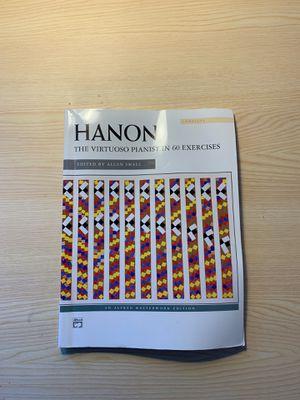 Hanon Excercise Piano Book for Sale in Walnut Creek, CA