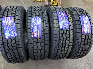 265 75 16 Lt 10 ply allterrain new Tires free installation for Sale in Garland, TX