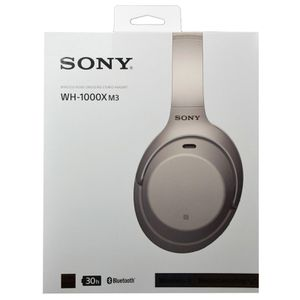Sony WH1000XM3 Bluetooth Wireless Noise Canceling Headphones (Silver) for Sale in Arlington, VA
