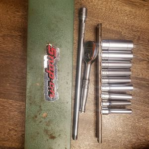 Snap-on 9pc Standard 1/4 Drive Set. for Sale in Baytown, TX