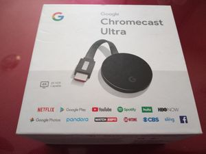 Google Chromecast Ultra for Sale in Stockton, CA