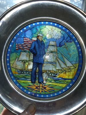 Two stain glass collectible plaques for Sale in SeaTac, WA