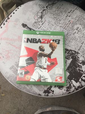 Nba2k18 for Sale in Columbus, OH