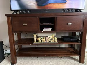 Cherrywood side table/ Buffett table for Sale in Raleigh, NC