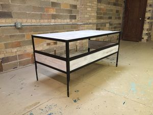 Reclaimed 200 year old reclaimed barn wood desk for Sale in Columbus, OH