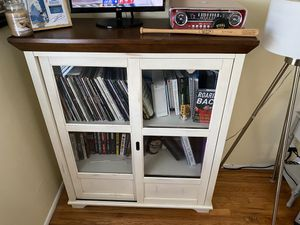 Glass Door Cabinet Storage for Sale in Lakewood, CA