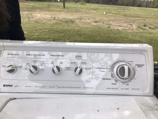 Kenmore washing machine