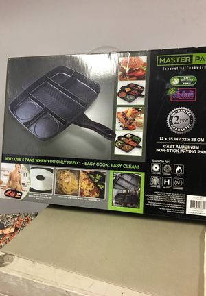 Master pan non - stick frying pan. for Sale in Las Vegas, NV