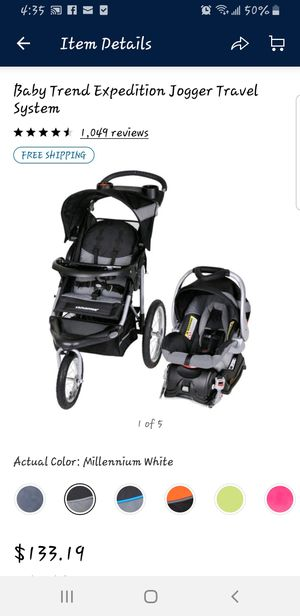 Stroller with car seat and the base brand new for Sale in Shawnee, KS