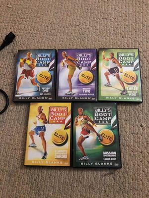 Billy Banks Boot Camp DVDs for Sale in Lutherville-Timonium, MD
