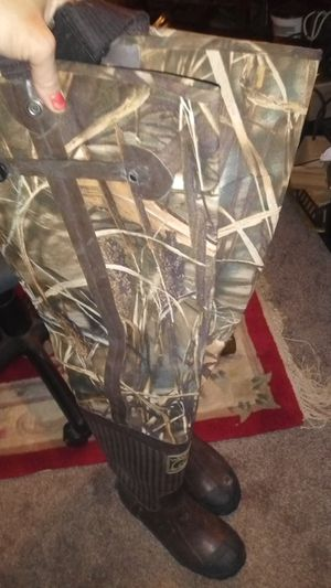 Outdoor/hunting/fishing boots for Sale in Pleasant Hill, IA