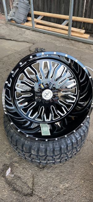 """24x14 XF 305 OFF-ROAD Wheels 6x139.7/6x135 + 33""""/35"""" Tires-We Finance for Sale in Stockton, CA"""