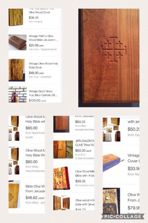 Bible- from jerusalem for Sale in Houston, TX