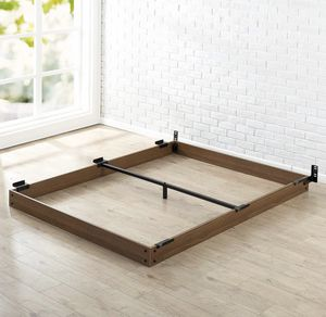 New Wood queen Bed Frame for your box spring and mattress for Sale in Columbus, OH