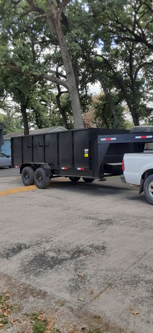 Dump trailer and skid steer/bobcat work for Sale in Dallas, TX