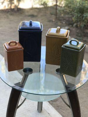 Kitchen Jars set of 4 for Sale in Homeland, CA