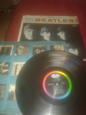 Meet,the,Beatles 1964 L,P vinil Capitol récords ST 2047. #3 for Sale in Lake Worth, FL