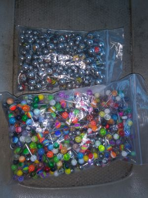 Tongue Ring and belly rings (MUST GO) for Sale in Dallas, TX