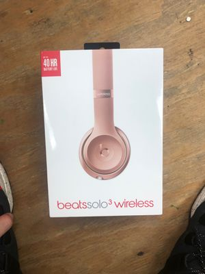 Apple Beats solo3 wireless headphones for Sale in Plantation, FL