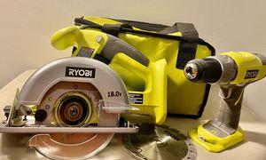 Ryobi tool set for Sale in San Bernardino, CA