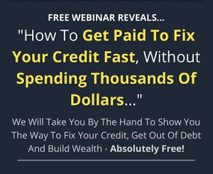 GET PAID TO FIX CREDIT for Sale in San Francisco, CA