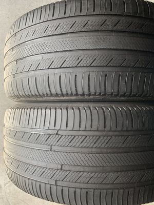 Pair of used tires 275/45/20 Michelin for Sale in Holly Springs, NC