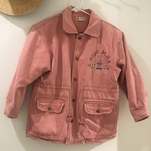Pink jean jacket for Sale in Los Angeles, CA